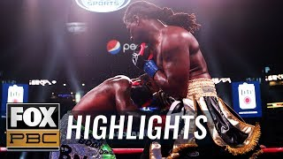 Gregory Corbin lands four low blows, gets DQ'd vs. Charles Martin | HIGHLIGHTS | PBC ON FOX - YouTube