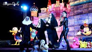 Lô tô show : Hết hồn với SGTT ngày Halloween tại Lễ hội ánh sáng