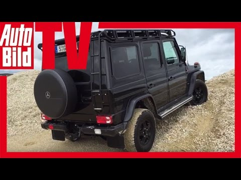 Pictures of car and videos 2017 Mercedes-Benz G350d Professional ...