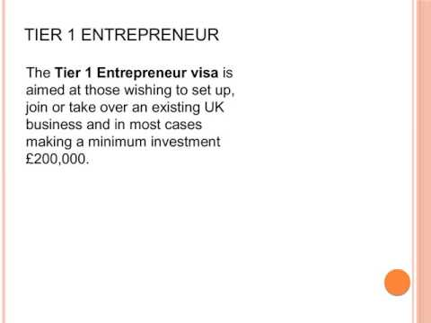 Tier 1 Investment Visa UK