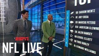 Wentz, Bosa and Elliott highlight top NFL players under 25 | NFL Live | ESPN