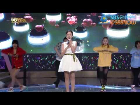 [이현우, 윤진이 - 사랑해] 2012 SBS 연기대상 축하공연