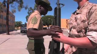 USMC DRILL INSTRUCTORS DESTROY RECRUITS!