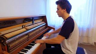 Auli'i Cravalho - How Far I'll Go (Moana soundtrack) Piano cover by Peter Buka