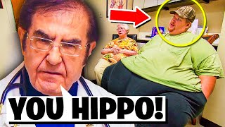10 Times Dr Now OWNED Patients On My 600-lb Life