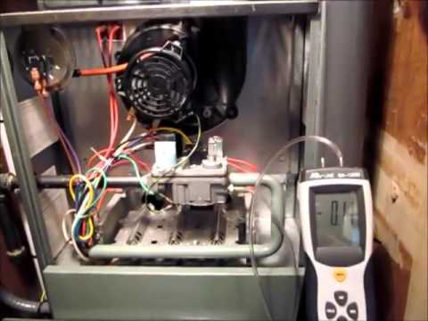Testing And Adjusting Gas Pressure Rheem Rgph 80 Gas