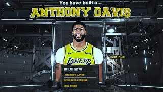 THIS ANTHONY DAVIS BUILD IS THE BEST CENTER BUILD IN NBA2K20!