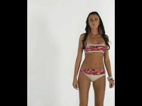 Slim athletic model wears Brazilian bikini Tucunare16