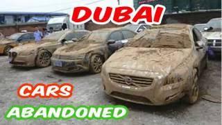 DA VAS DUŠA ZABOLI: Pogledajte kakve sve luksuzne automobile ljudi u Dubaiju ostavljaju da trunu u prašini!