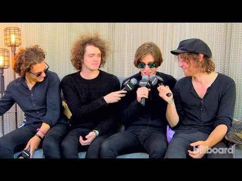 Catfish and the Bottlemen on Working With Ewan McGregor: Lollapalooza 2015