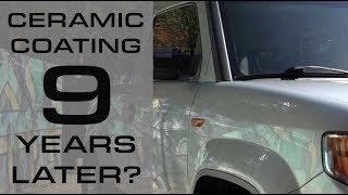 Ceramic Coating, 9 Years Later??