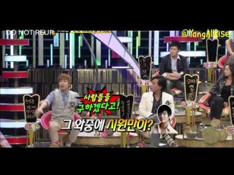 Leeteuk talking about Siwon