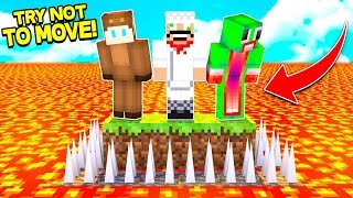 ★SUPER HARD TRY NOT TO MOVE CHALLENGE★ (Minecraft)