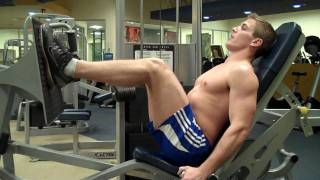 How To: Seated Leg Press (Cybex)