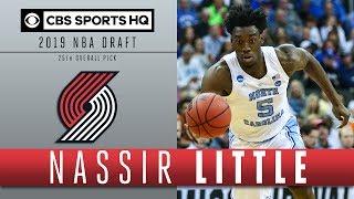 Nassir Little is a Tremendous athlete | 2019 NBA Draft | CBS Sports HQ