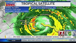2 a.m. Friday Hurricane Florence Update