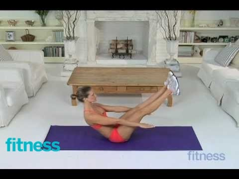 V Sits Exercise Deep Core Stren...