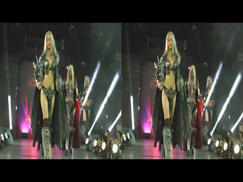 (3D) Cosplay World of warcraft Girls (AvaExpo 2016)
