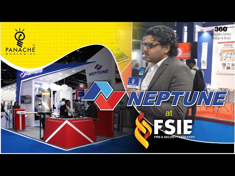 Neptune Automatic Booth design and build at FSIE, BEC, Mumbai by Panache Exhibitions