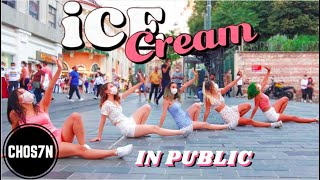 [KPOP IN PUBLIC TURKEY 'MASK VER'] BLACKPINK - Ice Cream (with Selena Gomez) Dance Cover by CHOS7N