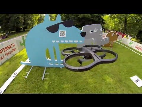 UNIKI AR Drone iPad educational game Frcopark