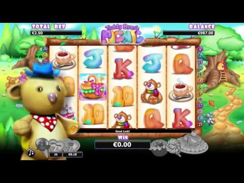 Teddybear'S Picnic™ free slots machine by NextGen Gaming preview at Slotozilla.com