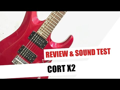 Review: Cort X2 Sound Test