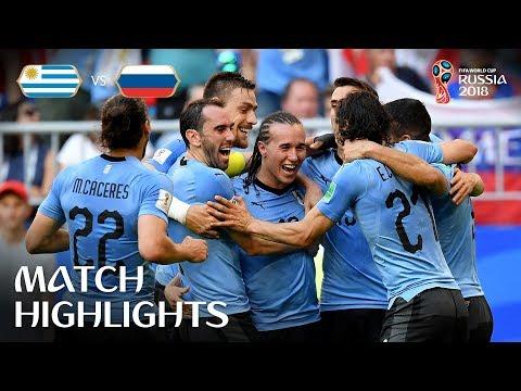 Uruguay v Russia 3-0