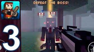 Pixel Gun 3D - Gameplay Walkthrough Part 3 - Pixelated World: Levels 6-9 (iOS, Android)