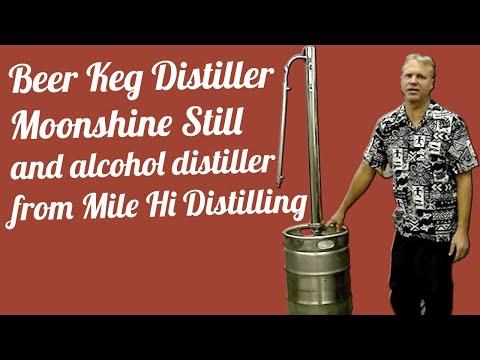 Beer Keg Distiller Moonshine Still And Alcohol Distiller From Mile ...