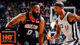 Houston Rockets vs San Antonio Spurs Full Game Highlights | 11.30.2018, NBA Season