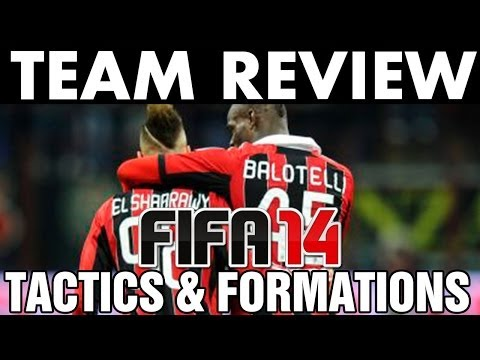FIFA 14 AC Milan Team Review + Guide | Best Custom Tactics / Formations (H2H) Tips & Tutorials