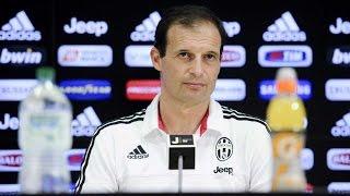 Juventus-Verona, la conferenza di Allegri - Allegri's press conference