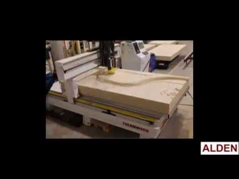 Time Lapse | Panel Machining for Historic Mississippi River Model