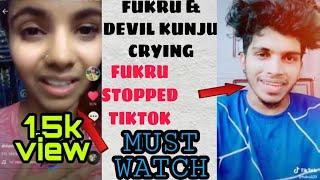 Fukru and Devil kunju crying   TIKTOK