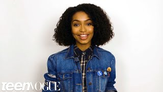 Yara Shahidi Shares the First Time She Fell in Love With Her Hair | Teen Vogue