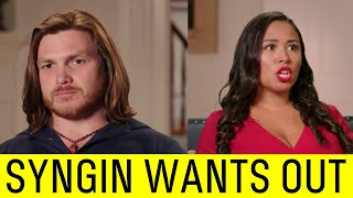 Syngin Threatens to Leave Tania on 90 Day Fiance.