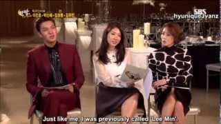 ENG SUB SBS Heirs Direct Interview