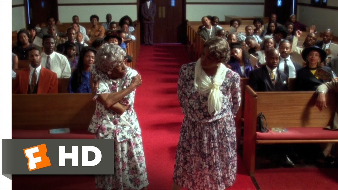 Don't Be a Menace (6/12) Movie CLIP - Old Lady Dance-Off ...