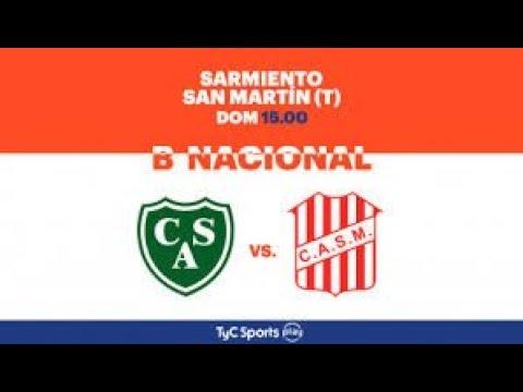 Sarmiento vs San Martin De Tucuman