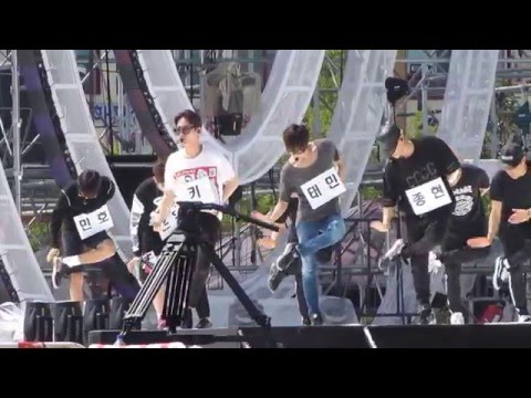 [150809] SHINee - Married To The Music MTTM Rehearsal Inkigayo in Sokcho