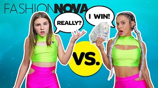 Kids REACT to my FASHION NOVA OUTFITS **WHO WORE IT BETTER CHALLENGE**💰💔| Piper Rockelle