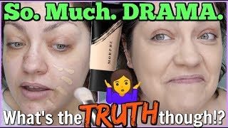 NOT AS BAD AS THEY SAY!? | YouTube Made Me Buy It! MORPHE Fluidity Full Coverage Foundation