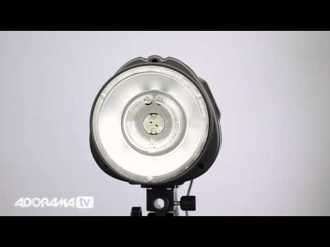 Flashpoint Budget Studio Monolight Flash: Product Overview: Adorama Photography TV - Smashpipe Style