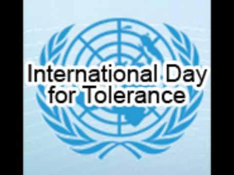 16.11 - International Day Of Tolerance