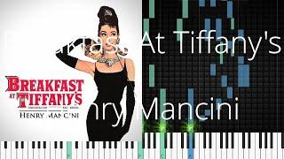 🎹 [Piano Solo]Breakfast At Tiffany's, Henry Mancini-Synthesia Piano Tutorial