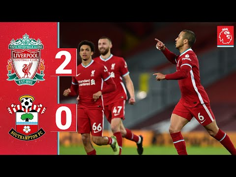 Highlights: Liverpool 2-0 Southampton | Thiago's first goal seals the win