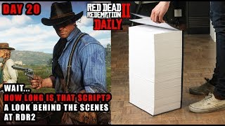 Red Dead DAILY # 20 : DAT SCRIPT! SPOILER FREE Behind the Scenes of Red Dead Redemption 2 (Vulture)
