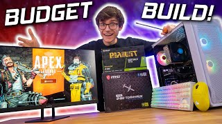 The BUDGET Gaming PC Build 2021! 🤑 (GTX 1650, i3 10100, Apex & Fortnite Gameplay Benchmarks)
