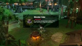 Zelda: BOTW (Royal Recipe // Fruitcake Recipe - Monster Cake Recipe)